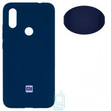 Чехол Silicone Cover Full Xiaomi Redmi 7 синий