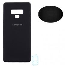 Чехол Silicone Cover Full Samsung Note 9 N960 черный