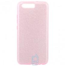 Чехол силиконовый Shine Huawei P10 розовый