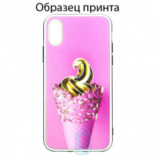 Чехол Fashion Mix Apple iPhone XS Max Ice cream