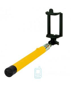 Монопод селфи палка Z07-5F Bluetooth желтый