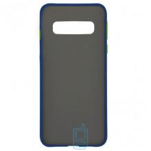 Чехол Goospery Case Samsung S10 Plus G975 синий