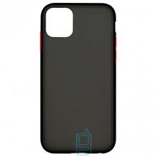 Чехол Goospery Case Apple iPhone 11 Pro Max черно-красный