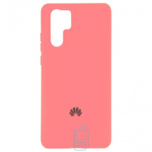 Чехол Silicone Case Full Huawei P30 Pro розовый