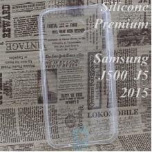 Чехол силиконовый Premium Samsung J5 2015 J500 прозрачный