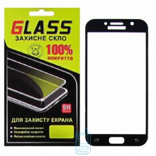 Защитное стекло Full Glue Samsung A5 2017 A520 black Glass