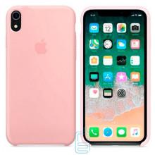 Чехол Silicone Case Apple iPhone XR бледно-розовый 19