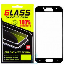 Защитное стекло Full Screen Samsung A3 2017 A320 black Glass