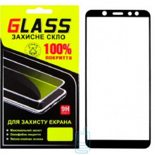Защитное стекло Full Screen Samsung A6 2018 A600 black Glass