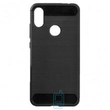 Чехол силиконовый Polished Carbon Xiaomi Redmi S2, Y2 черный