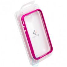 Чехол-бампер пластиковый Apple iPhone 4 сиреневый
