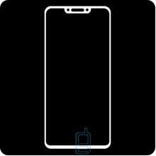 Защитное стекло Full Screen Huawei Nova 3, Nova 3i, P Smart Plus white тех.пакет