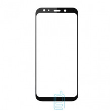Защитное стекло Full Screen Samsung A7 2018 A750 black тех.пакет