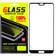 Защитное стекло Full Screen Huawei P20 black Glass