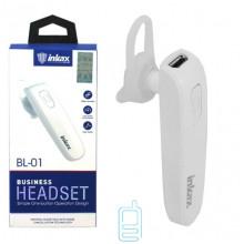 Bluetooth гарнитура inkax BL-01 белая