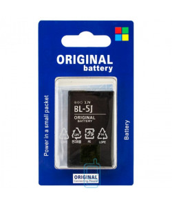 Аккумулятор Nokia BL-5J 1320 mAh 5228, 5230, 5233 AA/High Copy блистер