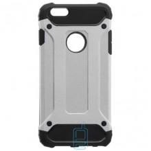 Чехол-накладка Motomo X5 Apple iPhone 6 Plus, 6S Plus серебристый