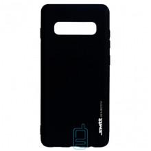 Чехол силиконовый SMTT Samsung S10 G973 черный