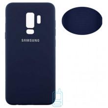 Чехол Silicone Cover Full Samsung S9 Plus G965 синий