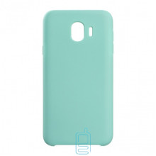 Чехол Silicone Case Original Samsung J4 2018 J400 зеленый (21)