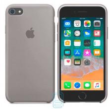 Чехол Silicone Case Apple iPhone 5, 5S светло-серый 23