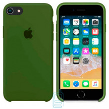Чехол Silicone Case Apple iPhone 5, 5S темно-зеленый 45