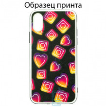 Чехол Fashion Mix Apple iPhone XS Max Instagram