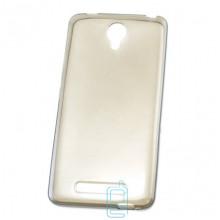 Чехол силиконовый Premium Xiaomi Redmi Note 2, Note 2 Prime затемненный