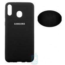 Чехол Silicone Cover Full Samsung M20 2019 M205 черный
