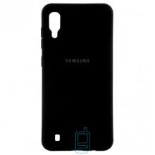 Чехол Silicone Case Full Samsung M10 2019 M105 черный