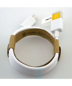 Micro USB кабель Samsung ECB-DU4AWC Original 1m тех.пакет белый
