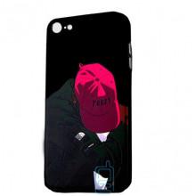 Чехол Creative TPU+PC Apple iPhone 7, 8 Boy in cap