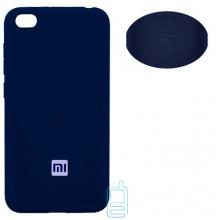 Чехол Silicone Cover Full Xiaomi Redmi GO синий