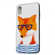 Чехол Creative TPU+PC Apple iPhone X, XS Fox