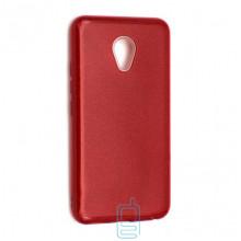 Чехол силиконовый Shine Meizu M5 красный