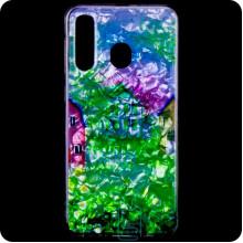 Cиликон Garden Samsung M30 2019 M305 домики