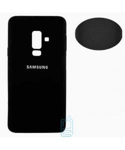 Чехол Silicone Cover Full Samsung A6 Plus 2018 A605 черный