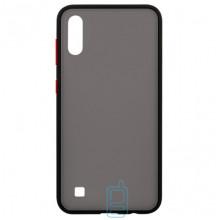 Чехол Goospery Case Samsung A10 2019 A105 черно-красный