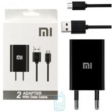 Сетевое зарядное устройство Xiaomi CH-P002 1USB 2.0A micro-USB black