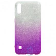 Чехол силиконовый Shine Samsung M10 2019 M105 градиент фиолетовый