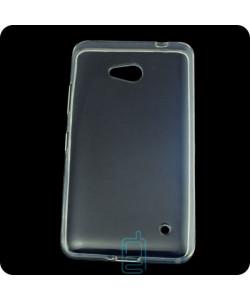 Чехол силиконовый Premium Nokia Lumia 640 прозрачный