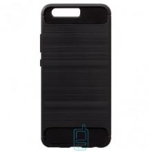 Чехол силиконовый Polished Carbon Huawei P10 черный