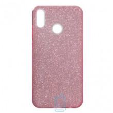 Чехол силиконовый Shine Huawei Honor 8X розовый