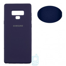 Чехол Silicone Cover Full Samsung Note 9 N960 синий