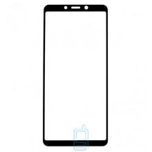 Защитное стекло 5D Samsung A9 2018 A920 black тех.пакет