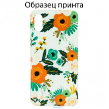 Чехол Bouquet Apple iPhone XS Max orange