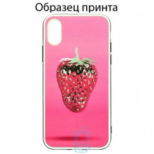 Чехол Fashion Mix Samsung A70 2019 A705 Strawberry