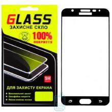 Защитное стекло Full Screen Samsung J7 Prime G610, G611 black Glass