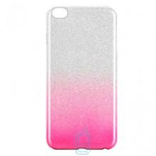 Чехол силиконовый Shine Xiaomi Redmi GO градиент розовый