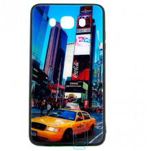 Чехол накладка Glass Case New Samsung J7 2016 J710 такси